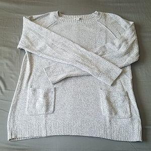 Light grey long sleeve sweater